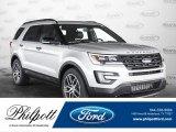 2017 Ingot Silver Ford Explorer Sport 4WD #122928409