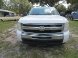 2009 Summit White Chevrolet Silverado 1500 LS Extended Cab #122940971