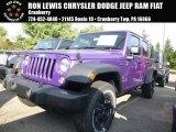 2017 Extreme Purple Jeep Wrangler Unlimited Sport 4x4 #122940807