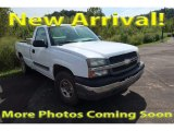 2004 Summit White Chevrolet Silverado 1500 LS Regular Cab 4x4 #122940965