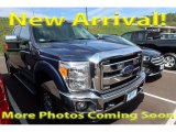 2015 Blue Jeans Ford F250 Super Duty XLT Crew Cab 4x4 #122940964