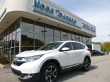 2017 White Diamond Pearl Honda CR-V Touring AWD #122940913