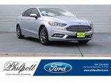 2017 Ingot Silver Ford Fusion SE #122957425