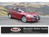 2015 Ruby Flare Pearl Toyota Camry LE #122957285