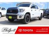 2018 Super White Toyota Tundra TSS CrewMax 4x4 #122957443