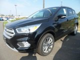 2018 Shadow Black Ford Escape Titanium #122984030