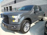Lithium Gray Ford F150 in 2017