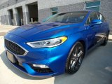 2017 Lightning Blue Ford Fusion Sport AWD #122984024