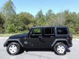 2017 Black Jeep Wrangler Unlimited Sport 4x4 #122983768