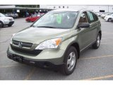 2007 Green Tea Metallic Honda CR-V LX 4WD #12277678
