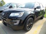2017 Shadow Black Ford Explorer XLT 4WD #122984048