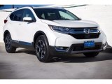 2017 White Diamond Pearl Honda CR-V Touring #123002840