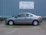 2007 Galaxy Gray Metallic Honda Civic LX Coupe #12278439