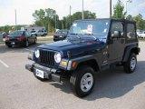2006 Midnight Blue Pearl Jeep Wrangler X 4x4 #12273815