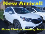 2015 White Diamond Pearl Honda CR-V Touring #123002904