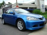 2006 Vivid Blue Pearl Acura RSX Sports Coupe #12268698