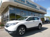 2017 White Diamond Pearl Honda CR-V LX AWD #123002867
