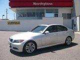 2006 Titanium Silver Metallic BMW 3 Series 325i Sedan #12264322