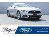 2017 Ingot Silver Ford Mustang V6 Coupe #123025994