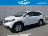 2014 White Diamond Pearl Honda CR-V EX AWD #123025766