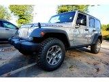 2017 Billet Silver Metallic Jeep Wrangler Unlimited Rubicon 4x4 #123025915