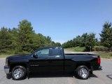 2014 Black Chevrolet Silverado 1500 WT Double Cab 4x4 #123025761