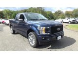 2018 Blue Jeans Ford F150 STX SuperCab 4x4 #123061633