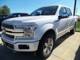 2018 White Platinum Ford F150 Platinum SuperCrew 4x4 #123080364