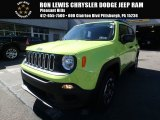 2017 Hypergreen Jeep Renegade Sport 4x4 #123080301