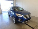 2017 Lightning Blue Ford Escape Titanium 4WD #123080241