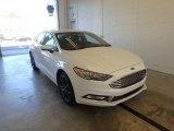 2018 Oxford White Ford Fusion SE #123080237