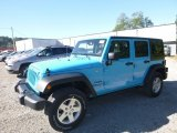 2017 Chief Blue Jeep Wrangler Unlimited Sport 4x4 #123080273