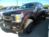 2018 Magma Red Ford F150 XLT SuperCab 4x4 #123080383
