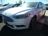 2018 White Platinum Ford Fusion SE #123080382
