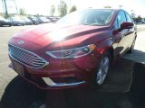 2018 Ruby Red Ford Fusion SE #123080380