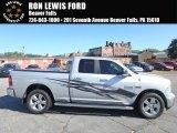 2015 Bright Silver Metallic Ram 1500 SLT Quad Cab 4x4 #123080217