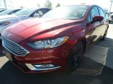 2018 Ruby Red Ford Fusion SE #123080377