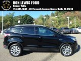 2018 Shadow Black Ford Escape Titanium 4WD #123080213