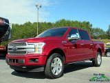 2018 Ruby Red Ford F150 Platinum SuperCrew 4x4 #123080035