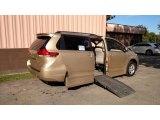 2012 Sandy Beach Metallic Toyota Sienna LE #123108294