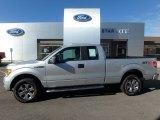 2014 Ingot Silver Ford F150 STX SuperCab 4x4 #123108285