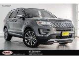 2016 Magnetic Metallic Ford Explorer Platinum 4WD #123130370