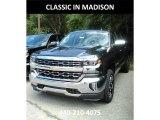 2018 Graphite Metallic Chevrolet Silverado 1500 LTZ Crew Cab 4x4 #123130511