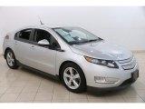 2013 Silver Ice Metallic Chevrolet Volt  #123154567