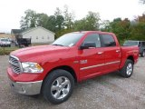 2017 Flame Red Ram 1500 Big Horn Crew Cab 4x4 #123154511