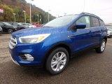 2018 Ford Escape Lightning Blue