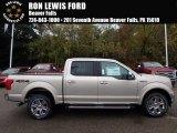 2018 White Gold Ford F150 Lariat SuperCrew 4x4 #123154449