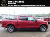 2018 Ruby Red Ford F150 Lariat SuperCrew 4x4 #123154448