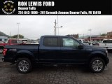 2018 Blue Jeans Ford F150 STX SuperCrew 4x4 #123154445
