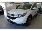 2017 White Diamond Pearl Honda CR-V EX AWD #123154577